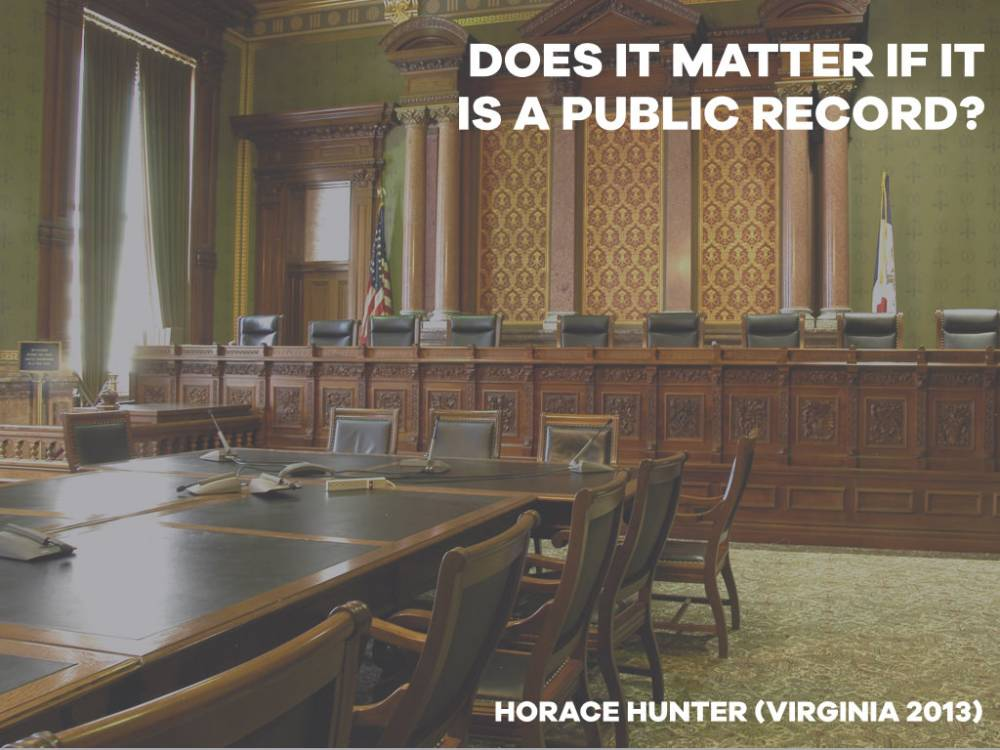Virginia - Attorney Ethics - Public Record