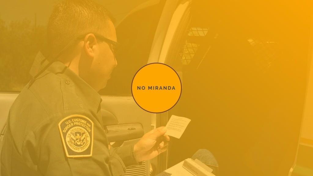 Williams analysis when Miranda is not read