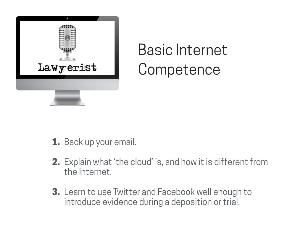 Lawyerist.com on Basic Internet Competence