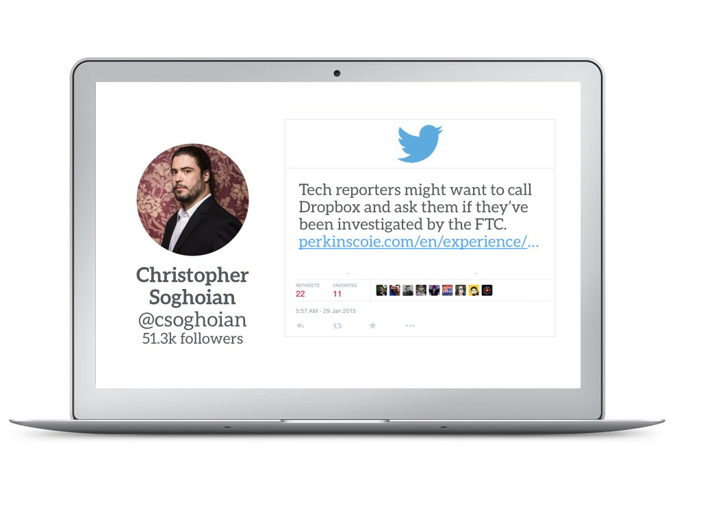 Christopher Soghoian Tips Off Tech Reporters