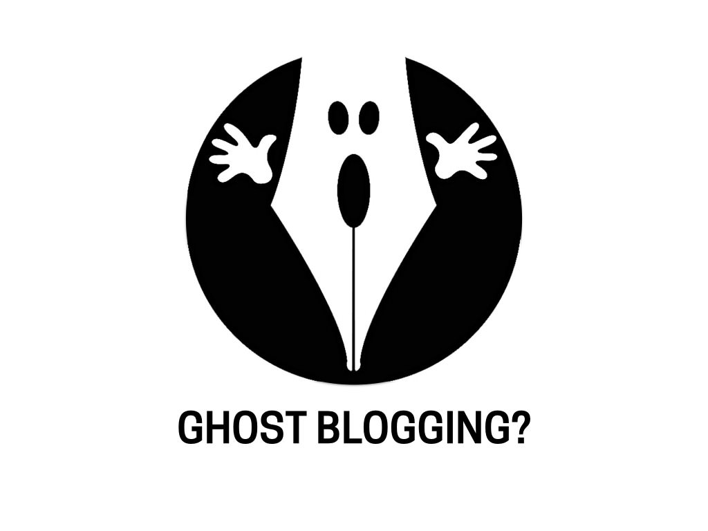 Is Ghost Blogging Ethical?